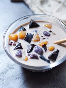 甜品芋圆仙草 大暑图片