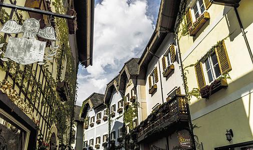 欧式建筑单色调背景图片