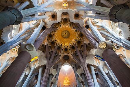 巴塞罗那圣家族大教堂图片
