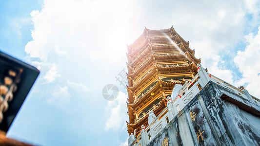 惠州象头山明珠禅寺舍利塔图片