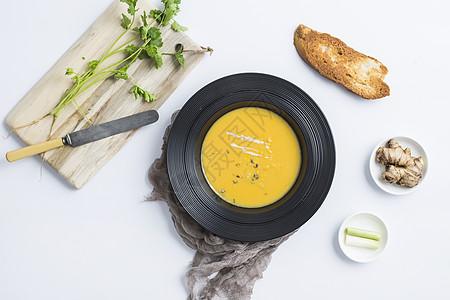 玉米浓汤图片