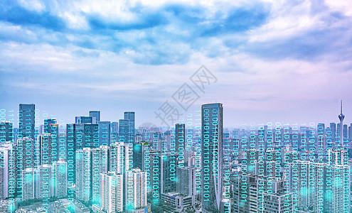 科技数字城市图片