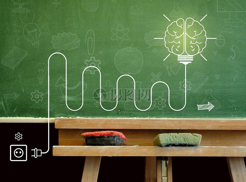 大脑灯泡电路