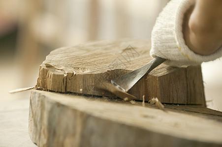 木匠雕刻图片