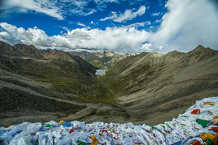 西藏拉姆拉措圣湖图片