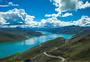 西藏羊湖天路羊卓雍措美景图片