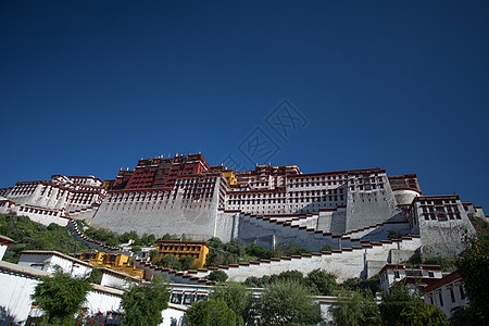 西藏拉萨布达拉宫图片