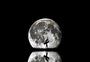 月亮下跳舞的女孩图片
