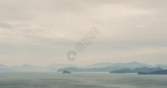 深圳大小梅沙海岛远望风景图片