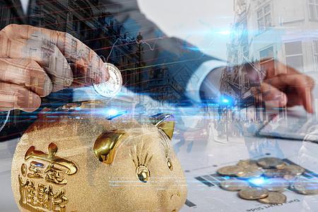 金猪计算机股市高清大图图片