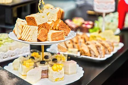 甜点糕点自助餐图片