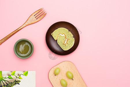 文艺下午茶摆盘素材图片图片