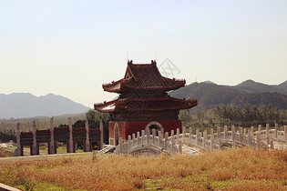 清东陵中轴线上的建筑图片