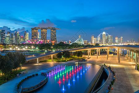 新加坡滨海湾高清大图图片