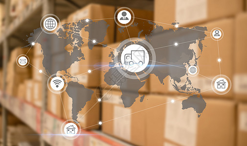 物流运输科技图片