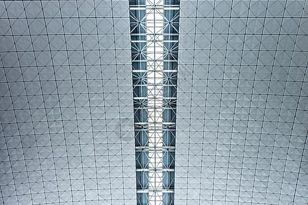 简约建筑线条对称背景图片