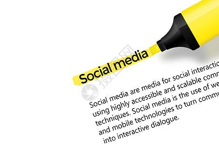 网络社交媒体图片
