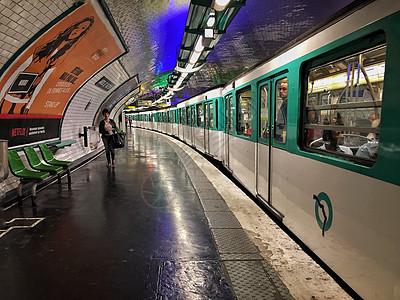 巴黎地铁图片
