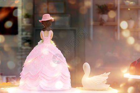 公主蛋糕图片