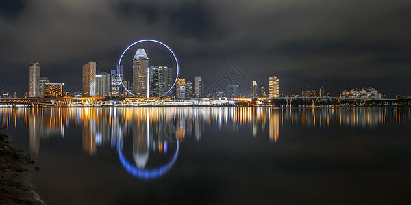 新加坡夜景图片