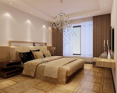 现代风格卧室效果图图片