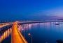 大连跨海大桥全景接片图片