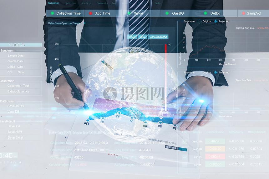 全球化办公数据库图片