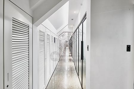 孵化器联合办公商务中心会议室长廊图片