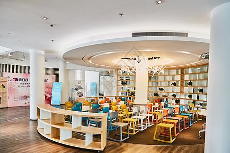 孵化器联合办公商务中心休息区图片