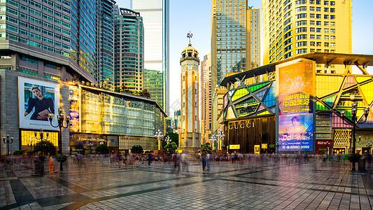 重庆解放碑城市建筑背景图片