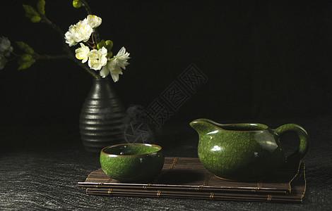 高雅的茶具图片