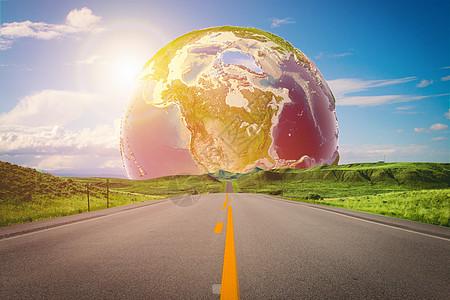 地球公路图片
