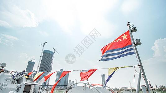 军旗飞扬图片