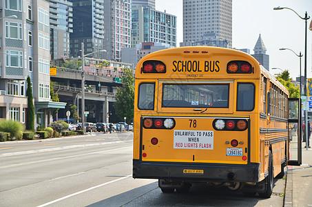 美国校车图片