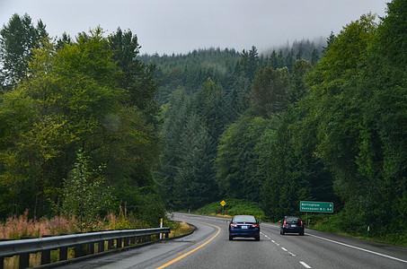 美国公路上图片