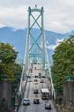 温哥华狮门桥图片