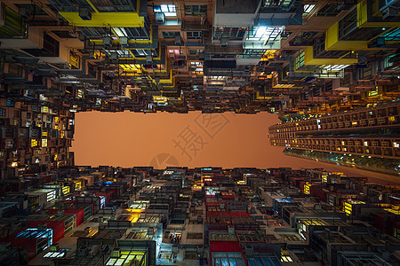 仰望香港图片
