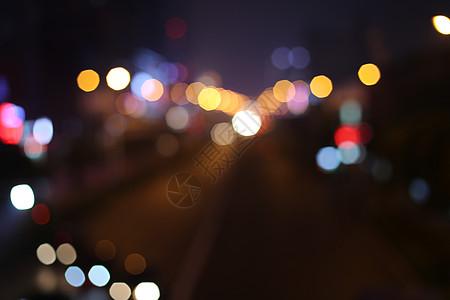 霓虹的夜图片