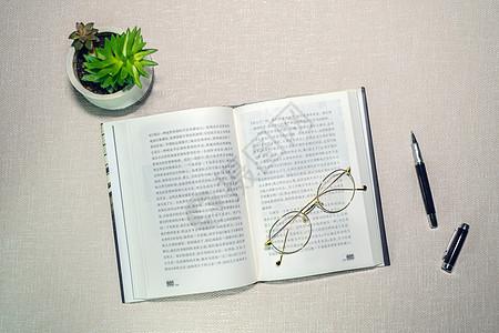 读书写作钢笔文艺桌面图片
