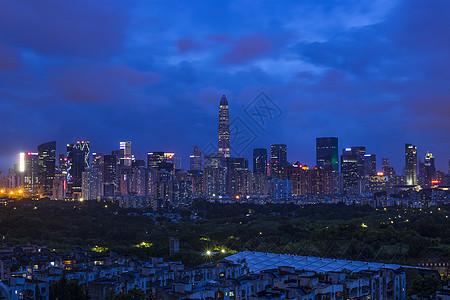 夜景深圳图片