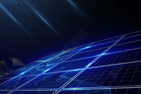 电板蓝色科技图片