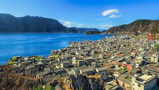 大理洱海边的双廊镇图片