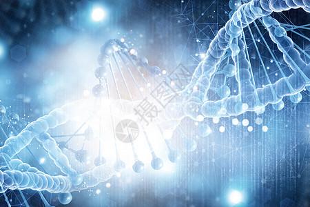 生物基因背景图片