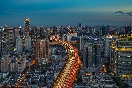 上海城市天际线图片