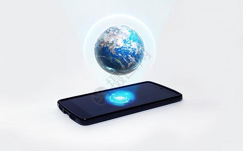 手机全息影像图片