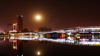 汾河夜景图片