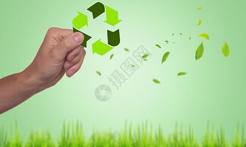 创意环保绿色资源图片