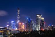 夜景深圳市民中心图片