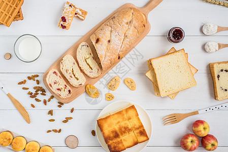 糕点美食组合图片