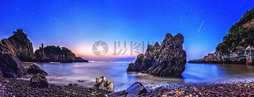 花岙岛星空图片